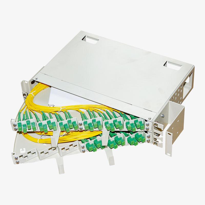 Panel de conexión de fibra óptica OF-01011 OF-01012