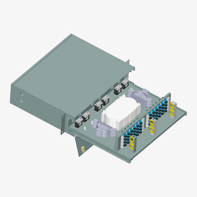 Panel de conexión de fibra óptica OF-01015
