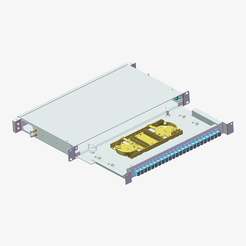 Panel de conexión de fibra óptica OF-01017