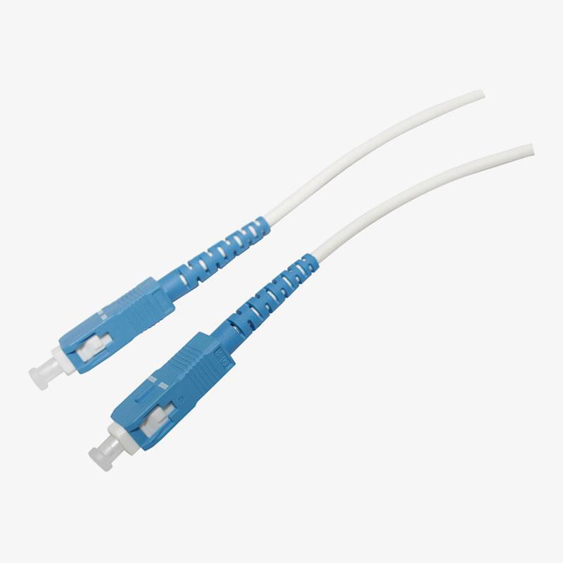 Cable de conexión SC/UPC simplex de un solo molde