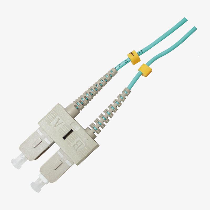 Cable de conexión SC Multimodo OM3 Duplex