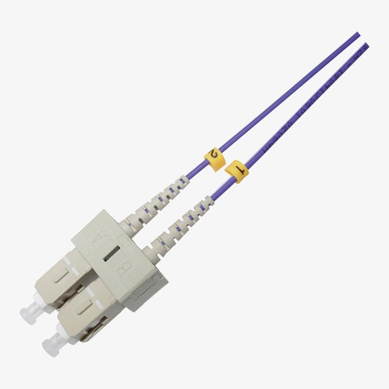 Cable de conexión SC Multimodo OM4 Duplex