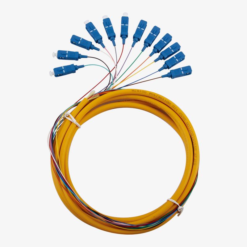 Pigtail de 12 Multi Colores SC/UPC