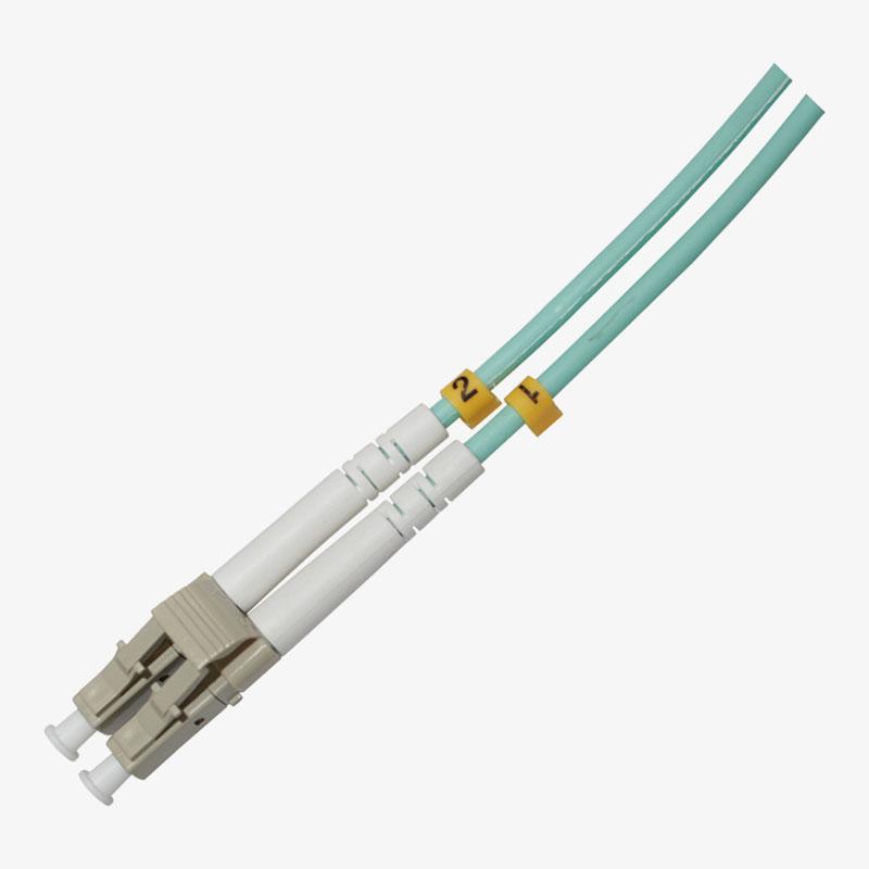 Cable de conexión LC multimodo OM3 dúplex